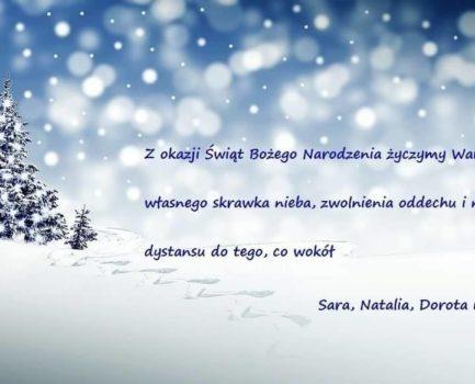 Życzenia świąteczne od Zarządu OZZPIW